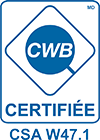 CWB Certification CSA W47.1